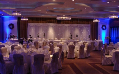 Fairylight backdrops available for hire